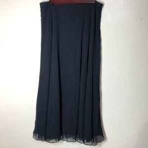 🔵 New Charter Club Silk Skirt